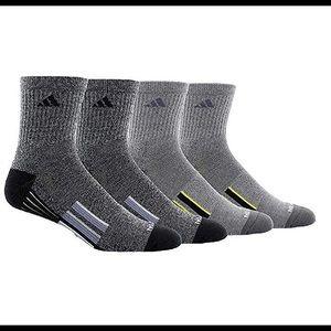 adidas Climalite Traxion Compression Quarter Socks